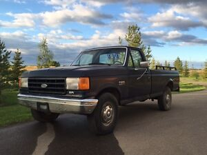 1988 Ford F-250 Custom EFI Pickup Truck