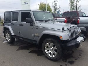 2014 Jeep Wrangler Unlimited Sahara - One owner!