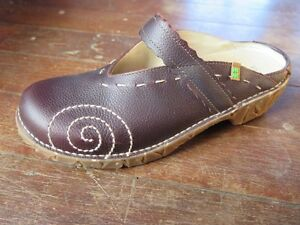 El Naturalista Brown Leather Clog Shoe YGGDRASIL size 40 Brisbane City Brisbane North West Preview