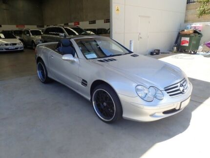 2002 Mercedes-Benz SL500 R230 5 Speed Sports Automatic Roadster Wangara Wanneroo Area Preview