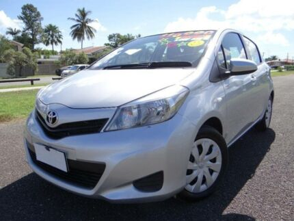 2013 Toyota Yaris NCP131R YRS Silver 4 Speed Automatic Hatchback Vincent Townsville City Preview
