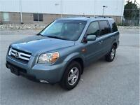 2006 HONDA PILOT 4X4*1-OWNER*8-PASS*LEATHER*MOON*NO ACCIDENTS
