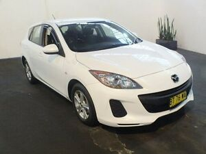 2013 Mazda 3 BL MY13 Neo White 5 Speed Automatic Hatchback Clemton Park Canterbury Area Preview