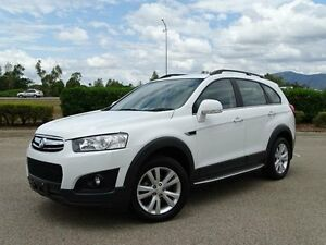 2014 Holden Captiva CG MY14 7 LT (AWD) White 6 Speed Automatic Wagon Vincent Townsville City Preview