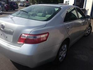 2007 TOYOTA CAMRY LE,PW,PL,AC,4 CYLINDER KM. 168,000,E-TEST PASS