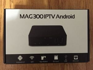 IPTV/MAG300 IPTV Android $75 or best offer