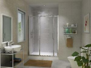 SHOWERS-TUBS- TOILETS- VANITY -  FLOORING-TILES -MOSAIC