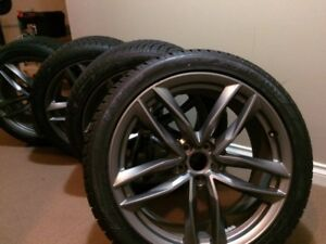 "4 Brand new Audi Q7 20"" rims and tires"