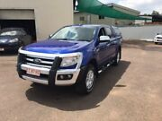 2013 Ford Ranger PX XLT 3.2 (4x4) Blue 6 Speed Manual Dual Cab Utility Durack Palmerston Area Preview