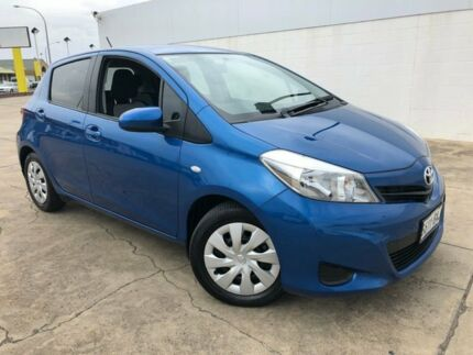 2013 Toyota Yaris NCP131R YRS Blue 4 Speed Automatic Hatchback Medindie Walkerville Area Preview