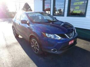 2018 Nissan Qashqai SL AWD w/ Leather only $219 bi-weekly!