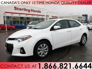 2015 Toyota Corolla S | 1 OWNER | NO ACCIDENTS