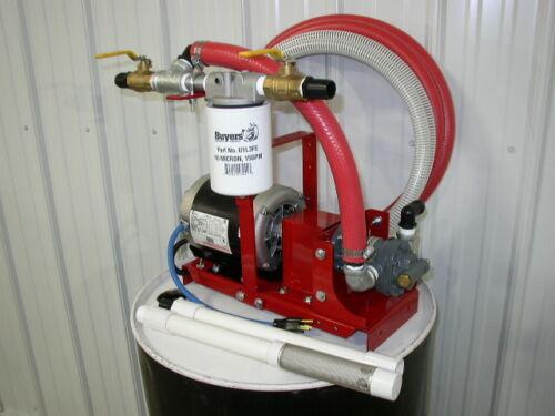 New Transformer Bulk/Waste Oil Transfer/Filtration Pump,Mineral/Silicone Oil