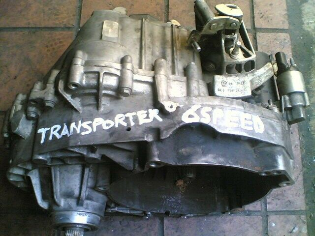 vw transporter gearbox 6 speed manual