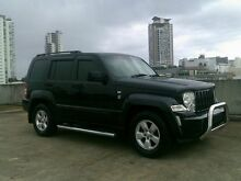 2010 Jeep Cherokee KK MY10 Sport Black 4 Speed Automatic Wagon Southport Gold Coast City Preview