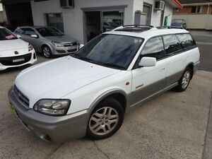 2002 Subaru Outback MY03 Limited White 4 Speed Automatic Wagon Sylvania Sutherland Area Preview