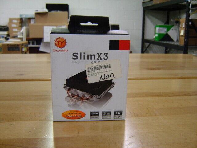 Thermaltake Slim X3 CPU Cooler Store Stock Never Used