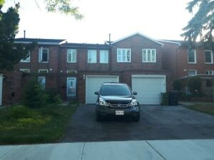 Three bedroom Semi detached with finished basement Scarborough