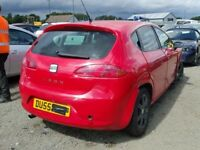 SEAT LEON 1.9 BXE BKC 2008 BREAKING FOR SPARES TEL 07814971951 HAVE FEW IN STOCK