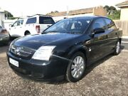 2004 Holden Vectra ZC MY04 CD Black 5 Speed Automatic Sedan Geelong Geelong City Preview