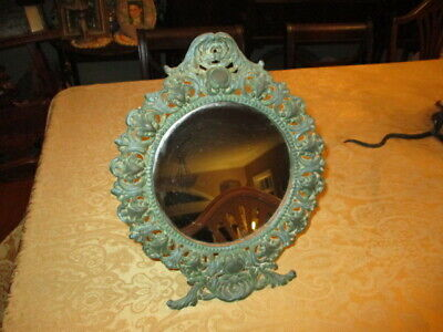 Victorian Vintage Mirror Oval Frame Set Silicone Fondant Mold High Definition