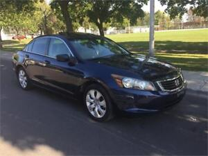 2008 HONDA ACCORD , AUTOMATIQUE , 4 CYLINDRE , SIEGES CUIR, TOIT