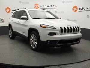 2015 Jeep Cherokee Limited 4WD - Heated Leather - Panorama Roof