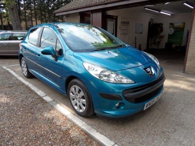 PEUGEOT 207 1.4 S 5d 95 BHP (blue) 2009