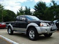 2004 NISSAN NAVARA 2.5 Di King Cab 4dr Pick Up ONLY 31,000 MILES FROM NEW + FSH