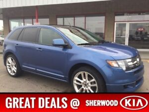 2010 Ford Edge AWD SPORT Accident Free,  Leather,  Heated Seats,