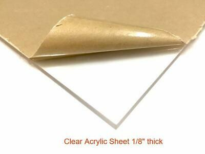 24 X 24 Clear Acrylic Sheet - 18 Thick