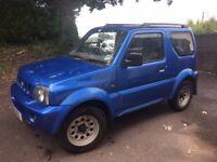 4x4 Suzuki Jimny Blue Automatic.