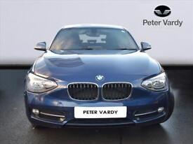 2012 BMW 1 SERIES DIESEL HATCHBACK