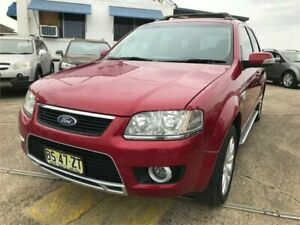 2009 Ford Territory SY MkII Ghia (4x4) Burgundy 6 Speed Auto Seq Sportshift Wagon