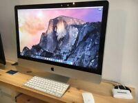 "Professionally refurbished Apple iMac 27"" 2010 Core i3"