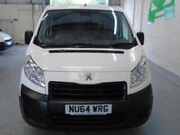 Peugeot Expert L2 H1 1200 1.6 90 BHP EURO 4/5 DIESEL MANUAL WHITE (2014)