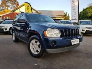 2007 Jeep Grand Cherokee WH Laredo (4x4) Blue 5 Speed Automatic Wagon Mount Hawthorn Vincent Area Preview