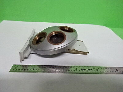 Microscope Part Leitz Germany Nosepiece As Is H1-b-06