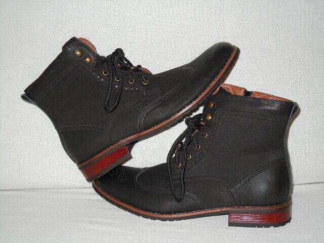 Polar Fox Jonah Brogue Wingtip ANKLE  Boots MEN'S 13 D  --SY