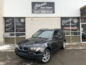 2006 BMW X3 2.5L **LEATHER**PANORAMIC ROOF**ONLY 143,000KM** 2.5