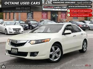 2009 Acura TSX w/Tech Pkg! WITER TIRES ON! LEATHER!