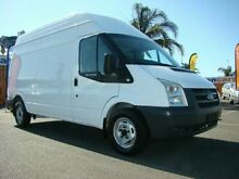 2008 Ford Transit VM High Roof LWB White 6 Speed Manual Van Cheltenham Kingston Area Preview
