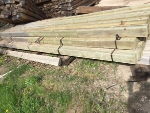 Laminated Poles For Sale (2x6x22')