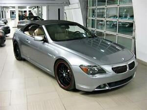 2005 BMW 6-Series 645Ci CONVERTIBLE, Navigation. Mags 20Po. A vo