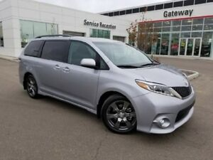 2017 Toyota Sienna 5DR SE 8-PASS FWD Backup Cam, Heated Leather