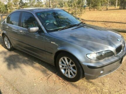 2003 BMW 320i E46 Grey 5 Speed Auto Steptronic Sedan Rocklea Brisbane South West Preview