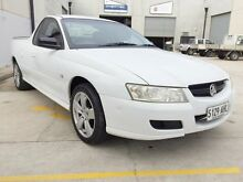 2007 Holden Ute VZ MY06 SVZ White 5 Speed Automatic Utility North Brighton Holdfast Bay Preview