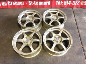 JDM SSR TYPE-C 17 INCH MAGS FOR SALE 5X114.3 / 17X7.5 OFFSET  40