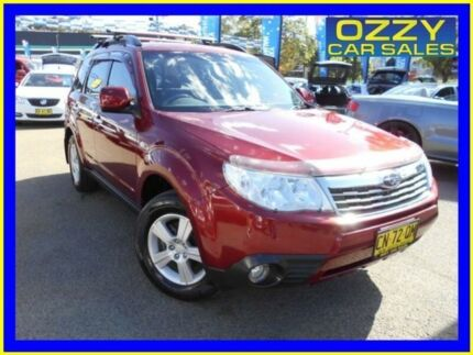 2008 Subaru Forester MY08 XS Maroon 5 Speed Manual Wagon Penrith Penrith Area Preview