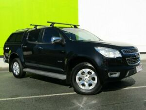 2013 Holden Colorado RG MY14 LTZ (4x4) Black 6 Speed Automatic Crew Cab Pickup Underwood Logan Area Preview